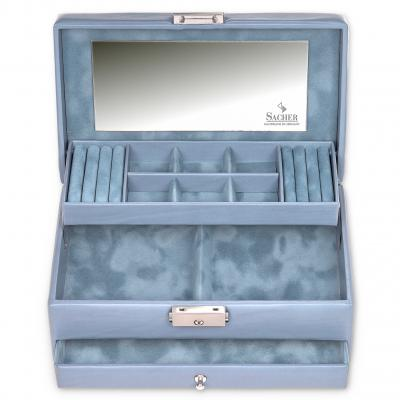 jewellery case Helen | aqua | pastello