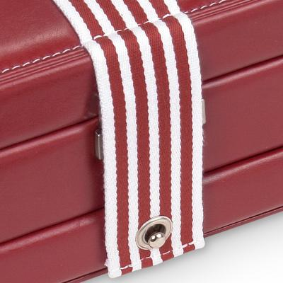 *While stock lasts* jewellery case Helen, red, young