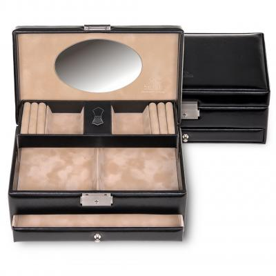 jewellery box Hanna, black, new classic