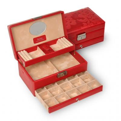 jewellery box Hanna/ red