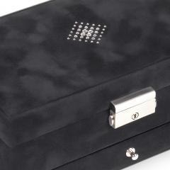 jewellery box Hanna, black, crystalo