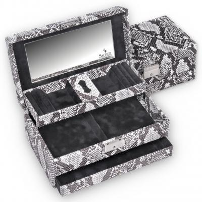 *While stock lasts* jewellery box Hanna, snake, snake