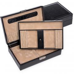 jewellery box Ilka, black, new classic