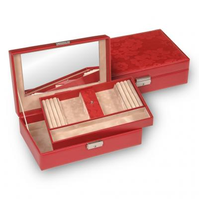 jewellery box Ilka/ red