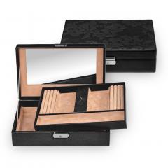 *While stock lasts* jewellery box Ilka, black, nature fiorella