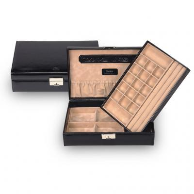 jewellery box Isa, black, new classic