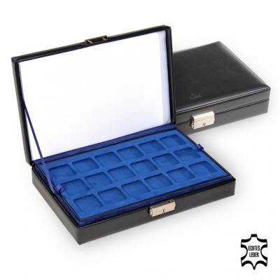 case for coins , leather, black, new classic
