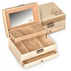 jewellery box Carola/ cream