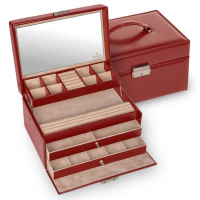 jewellery case Jette/ red