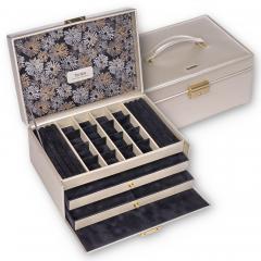 jewellery case Ina, gold, fleur venice