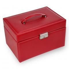 jewellery case Julia/ red