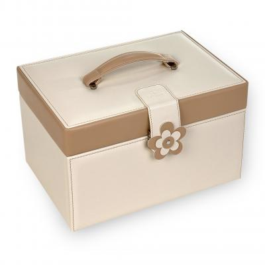 jewellery case Jasmin, cream, bella fiore