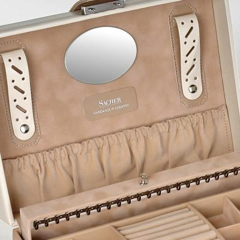 jewellery case Jasmin/ beige