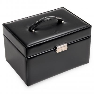 jewellery case Jasmin, leather | black | new classic