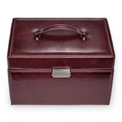 jewellery case Jasmin/ bordeaux