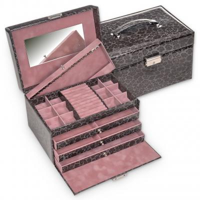 jewellery case Jasmin/ grey