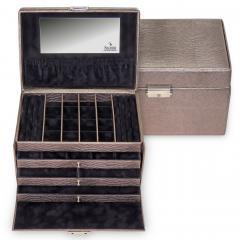 jewellery case Lena/ taupe