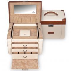 jewellery case Maxima | cream | travel