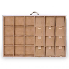 drawer Typ A VARIO, leather | white | vario
