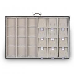 drawer Typ B VARIO, leather | black | vario