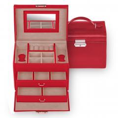jewellery case Sonja, red, standard