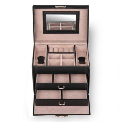 jewellery case Sonja/ black