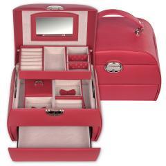 jewellery box Selina, red, standard