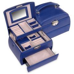 jewellery box Selina, blue, standard