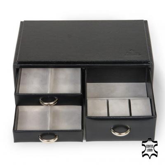 standard-module VARIO watches/ black (leather)