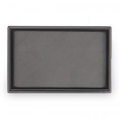 top-module VARIO, leather, black, vario