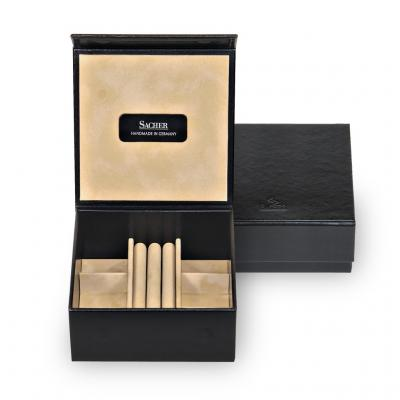 jewellery box Nora, black, new classic