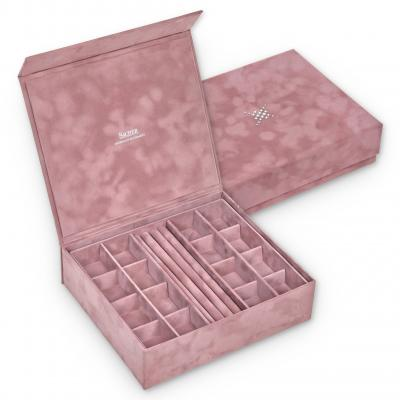 jewellery box Nora, old rose, crystalo mit Swarovski® Kristallen