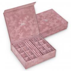 jewellery box Nora | old rose | crystalo mit Swarovski® Kristallen