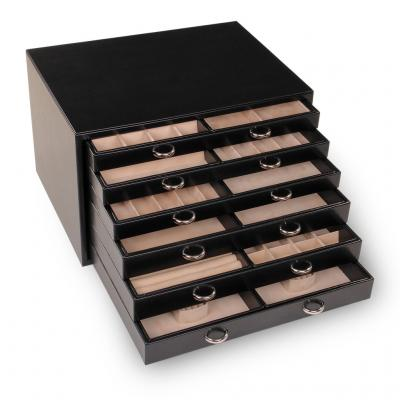 jewellery chest Grand VARIO, black, vario