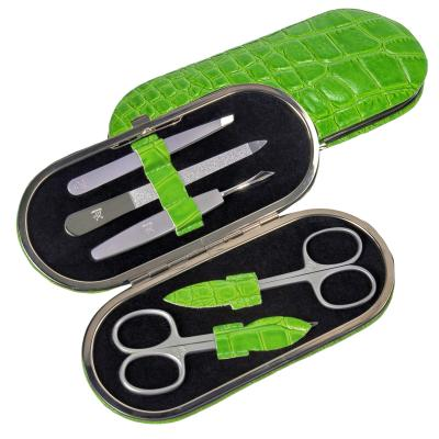 5 pcs. manicure set/ apple (leather)