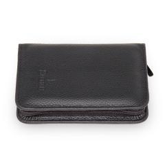 6 pcs. manicure set, leather | black | Maniküren