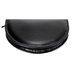 10 pcs. manicure set, leather | black | Maniküren
