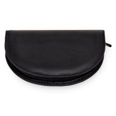 10 pcs. manicure set, leather, black, Maniküren