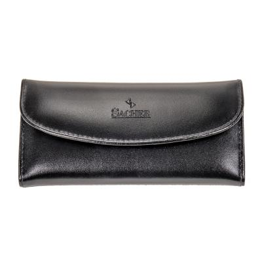 6 pcs. manicure set, leather, black, Maniküren