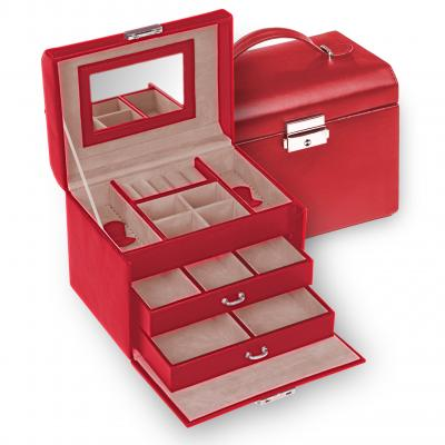 jewellery case Sonja, red, standard